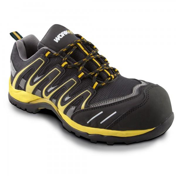 Zapato seg. workfit trail amarillo n.39