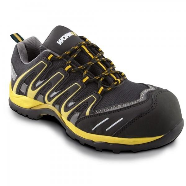 Zapato seg. workfit trail amarillo n.37
