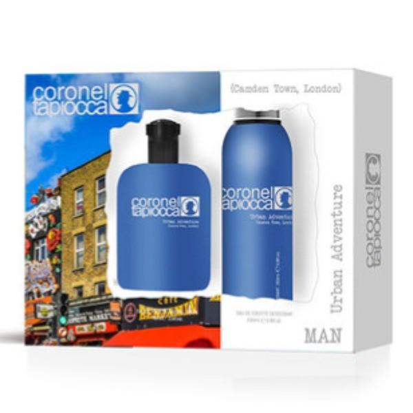 Coronel Tapiocca Urban Adventure hombre Colonia 75 ml + Desodorante perfumado 200 ml