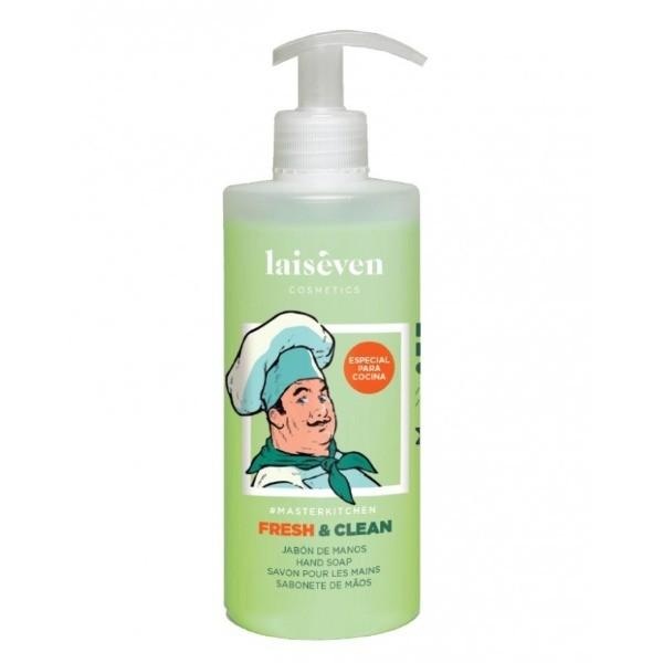 Laiseven jabón de manos para Cocina Fresh & Clean 400 ml